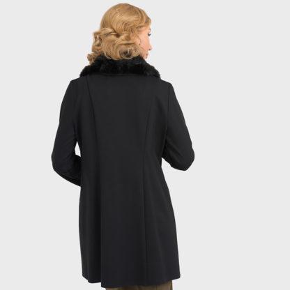 Joseph Ribkoff Black Coat.