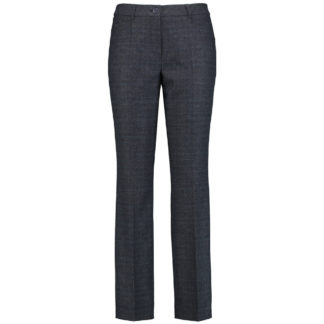 Gerry Weber Navy Wool Trousers Style 122073.