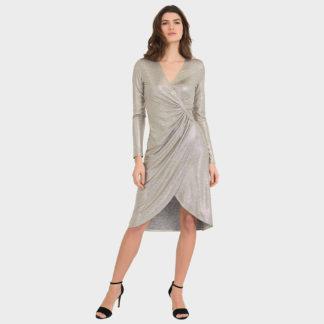 Joseph Ribkoff Shimmer Dress Style 194550.