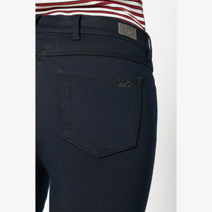 Toni Be Loved Navy Jeans Style 1225-1 pocket detail.