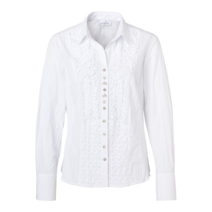 Just White Blouse Style 41740.