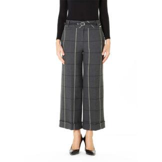Guzella Grey Check Culottes Style 502574.