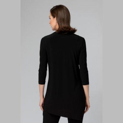 Joseph Ribkoff Black Tunic Style Top.