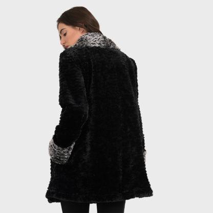 Joseph Ribkoff Faux Fur Coat 194501.