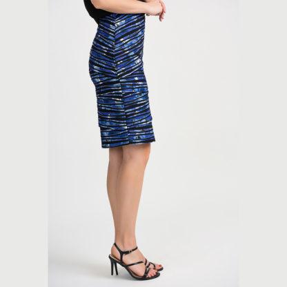 Joseph Ribkoff Black/Blue Skirt 201271.