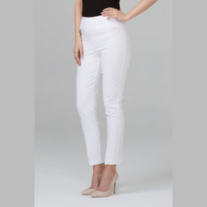 Joseph Ribkoff White Ankle Pants 201483.