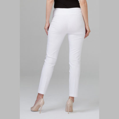 Joseph Ribkoff White Ankle Pants.