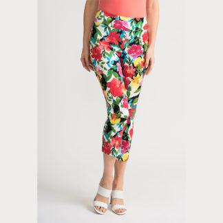 Joseph Ribkoff Multi Cropped Pants Style 202260.