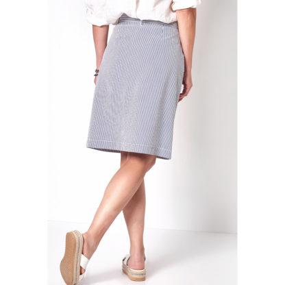 Toni Seersucker Skirt 2902-1.